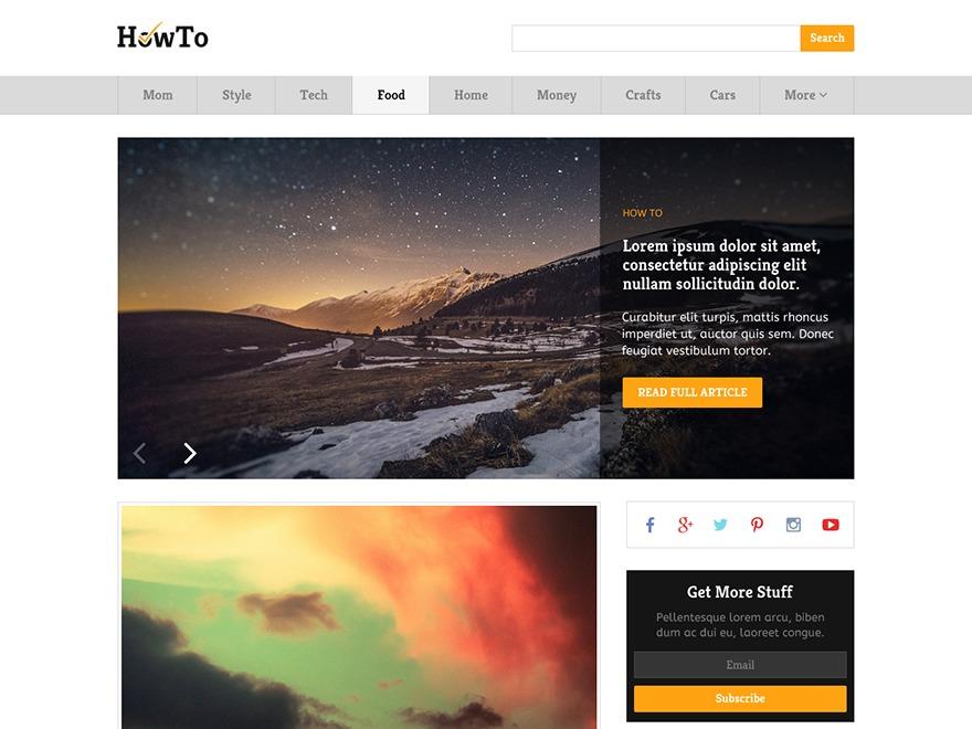 HowTo by MyThemeShop WordPress ecommerce theme