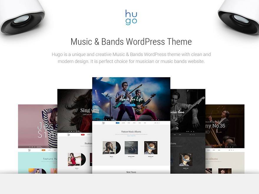 Hugo best WordPress template