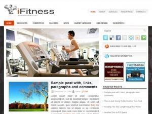 iFitness WordPress gaming theme
