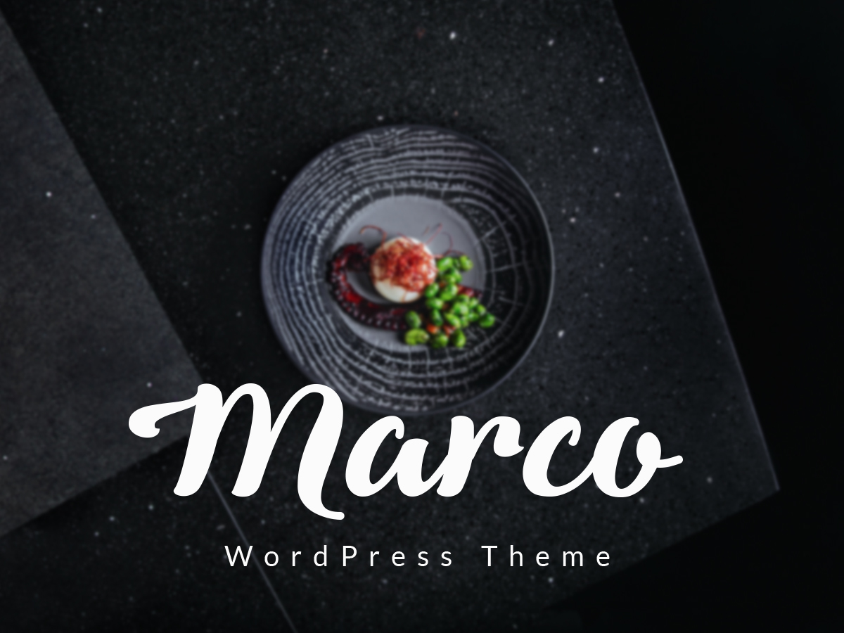Marco business WordPress theme