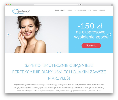 WordPress simple-content-reveal plugin - wybielanie24.pl