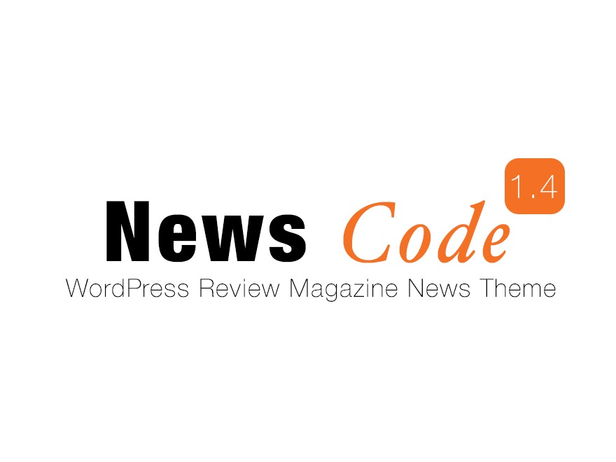 News Code WordPress news template