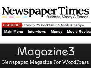 NewspaperTimes WordPress news theme