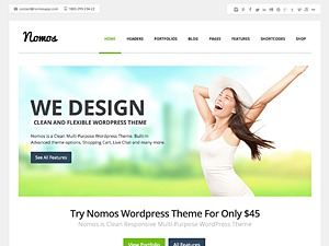 Nomos business WordPress theme
