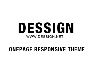 One Page Responsive WordPress Theme theme WordPress