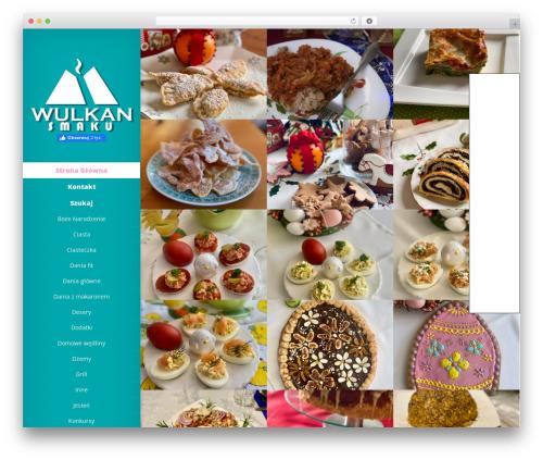 Origin free WordPress theme - wulkan-smaku.pl