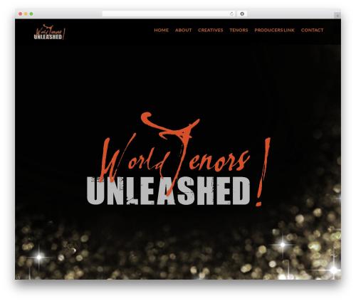 Rockon WP theme - worldtenorsunleashed.com