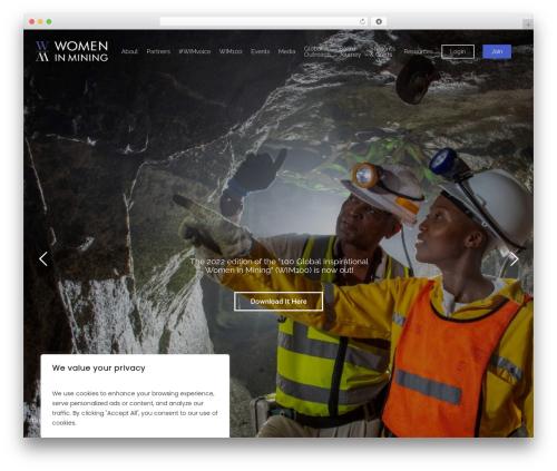Free WordPress Easy Sidebar Menu Widget plugin - womeninmining.org.uk