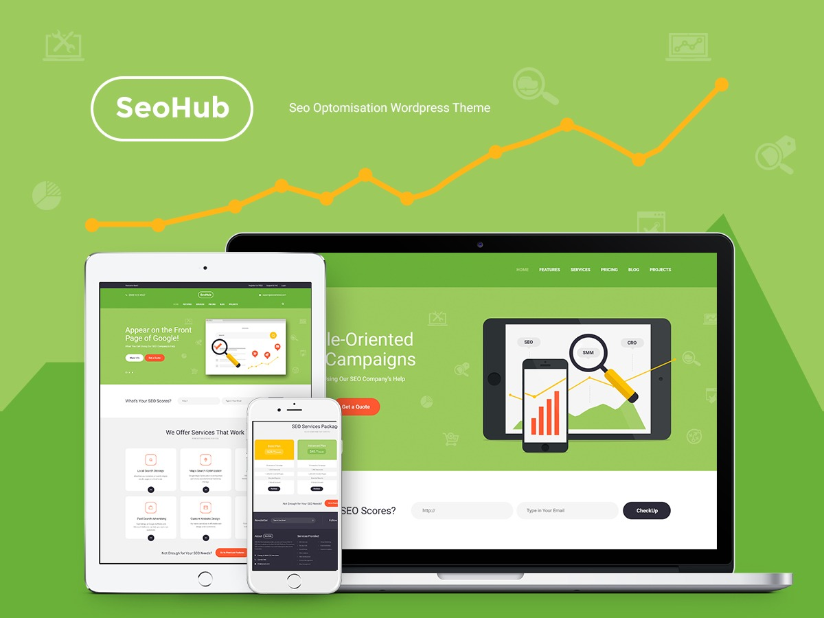 SeoHub WP theme