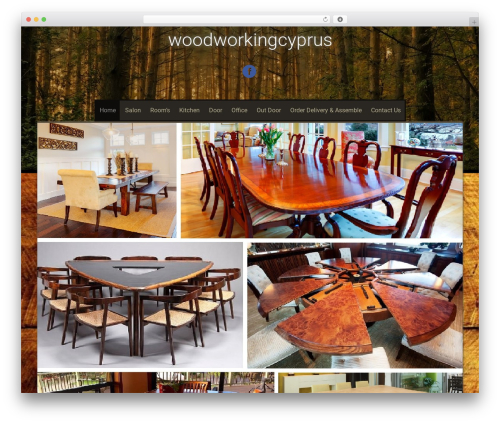 Sixteen best free WordPress theme - woodworkingcyprus.com