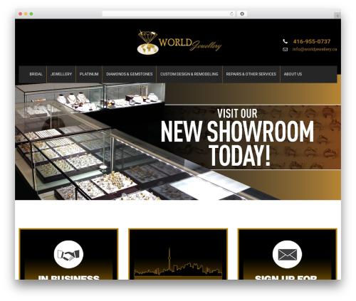 SKT Cutsnstyle Pro WordPress ecommerce template - worldjewellery.ca