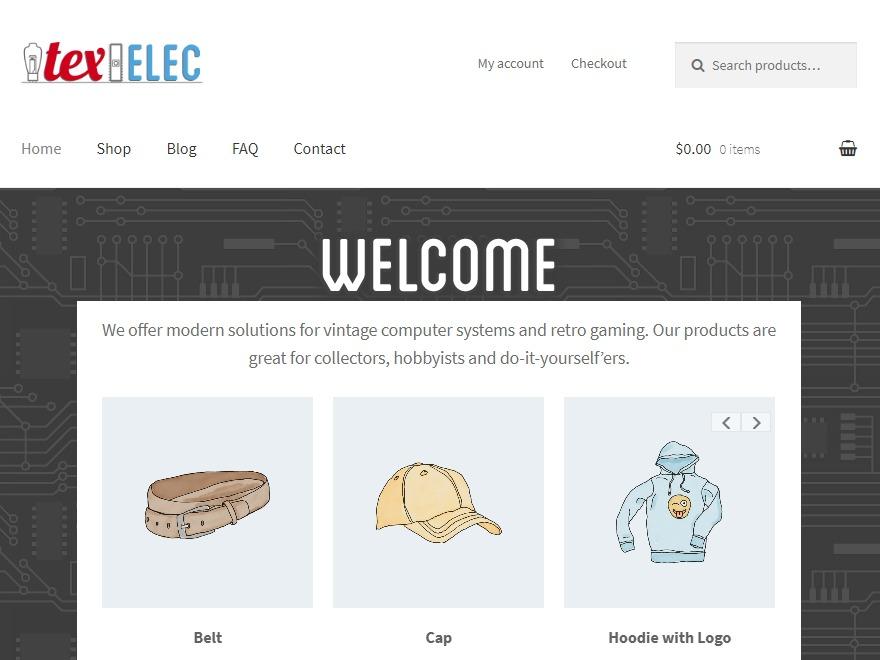 Storefront Child Theme WordPress ecommerce theme