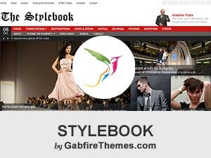 stylebook top WordPress theme