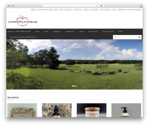Theme WordPress Abaya - woodapplefarms.com