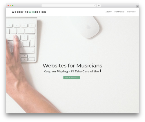 Theme WordPress Divi - woodwindwebdesign.com