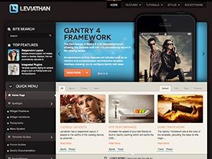 Theme WordPress Leviathan
