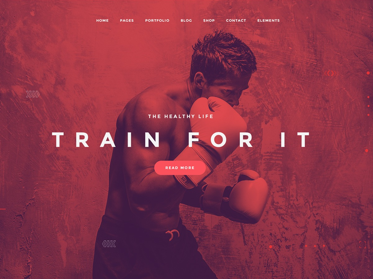 TopFit fitness WordPress theme