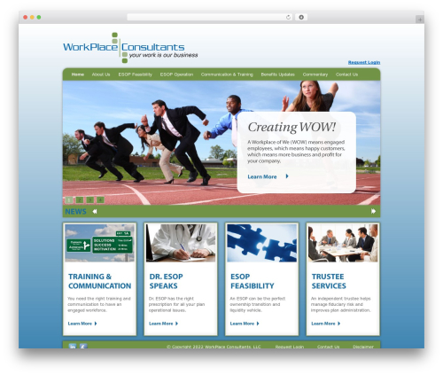 Twenty Ten free WordPress theme - workplaceconsultants.net