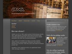 Urania WordPress page template