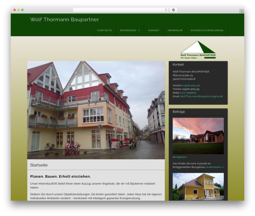 Visual WordPress free download - wolf-thormann-baupartner.de