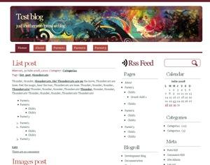 WhitePlus theme WordPress
