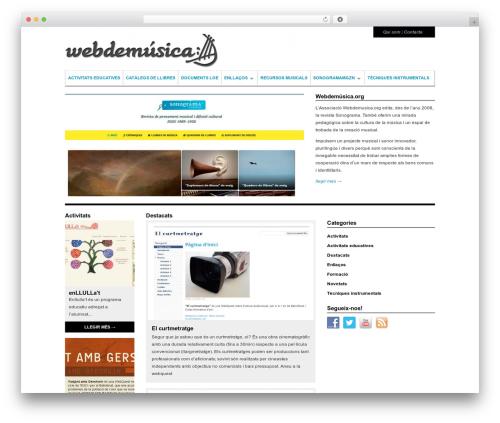 WordPress template Structure - webdemusica.sonograma.org