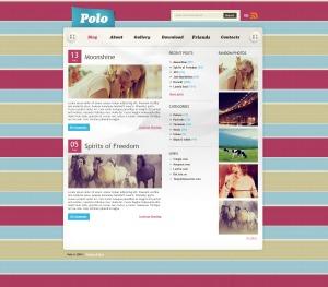 WordPress Theme 853 WordPress website template