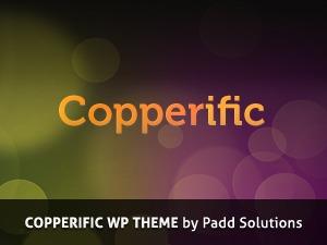 WordPress theme Copperific