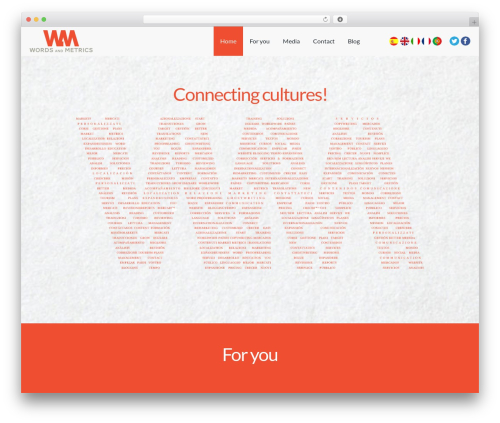 WordPress theme Landlr - wordsandmetrics.com