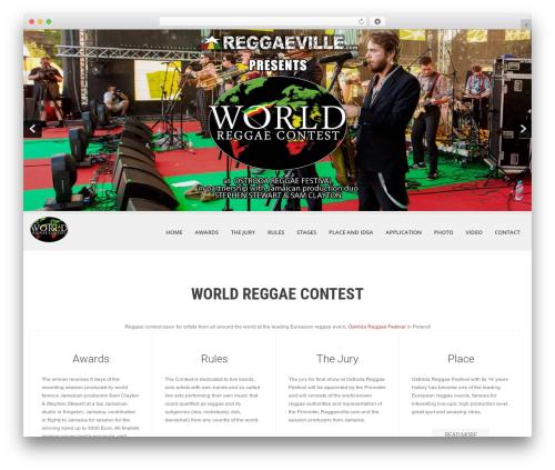 WordPress theme SKT White - worldreggaecontest.com