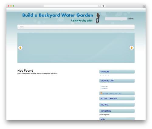 WordPress website template Marina - wordstolike.net