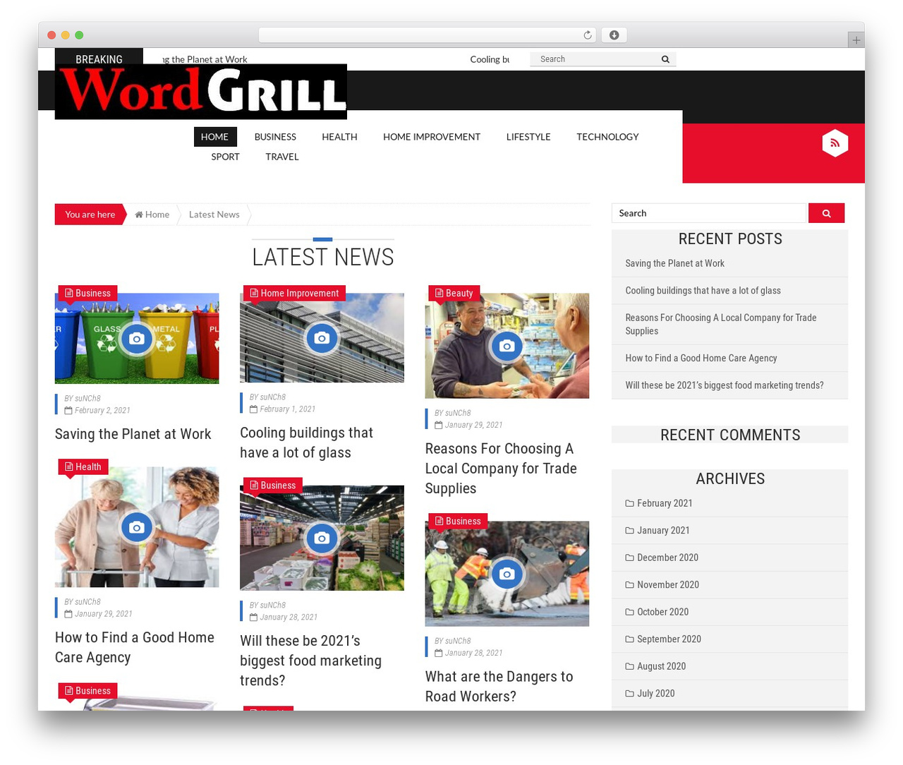 WP template Epira Lite - wordgrill.com