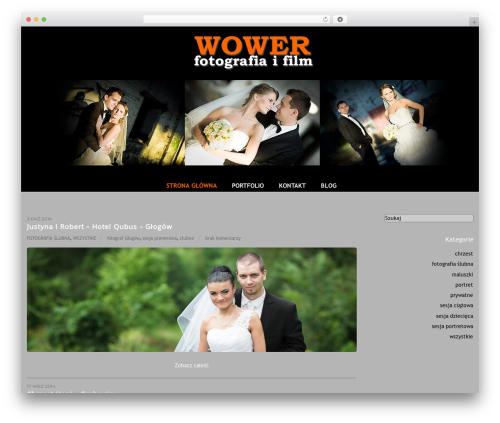 WP theme Themify Base - wower.pl