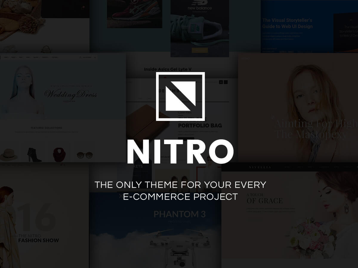 WR Nitro WordPress shop theme