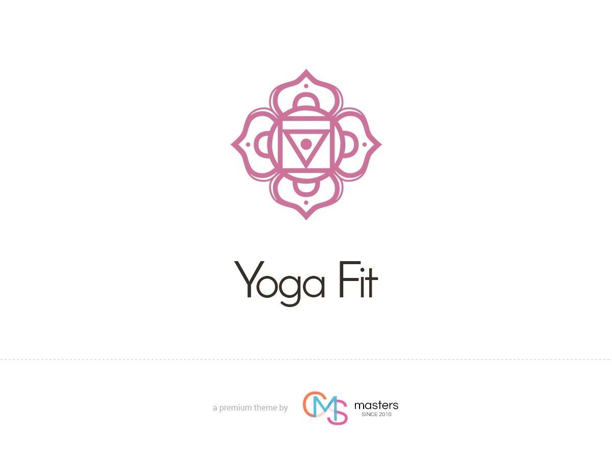 Yoga Fit WordPress blog template
