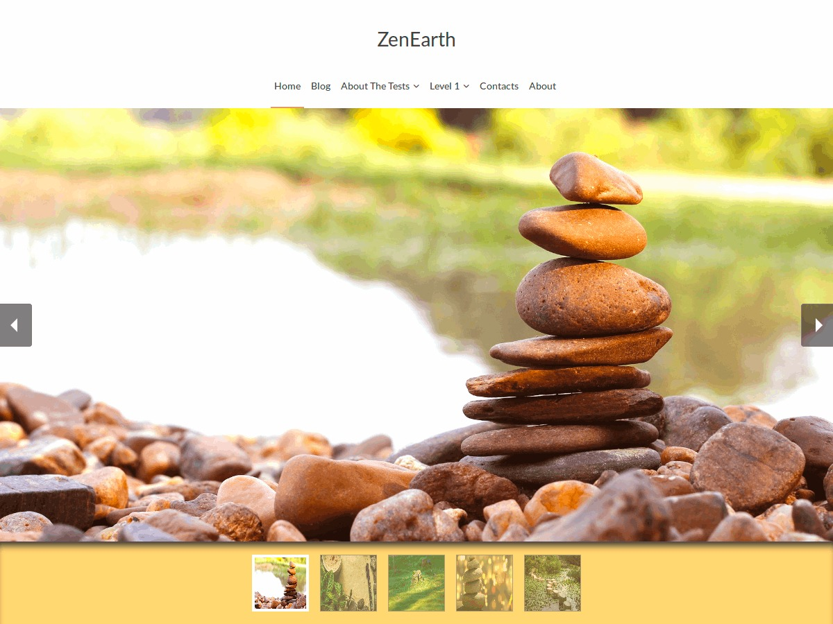 ZenEarth theme free download