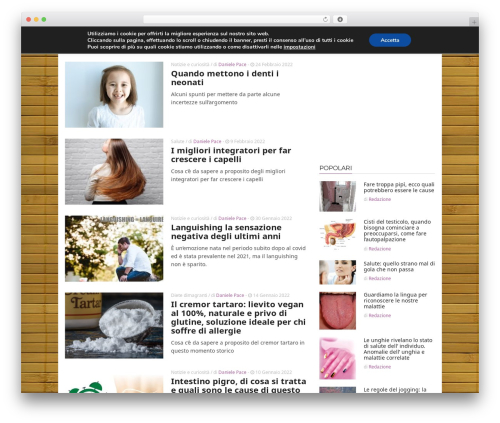 ADMAG WordPress blog template - mondobenessereblog.com