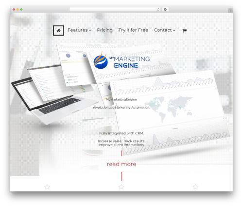 Cherry Framework best WordPress theme - mymarketingengine.com