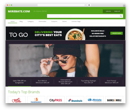 Coupon by MyThemeShop WordPress store theme - mirebate.com