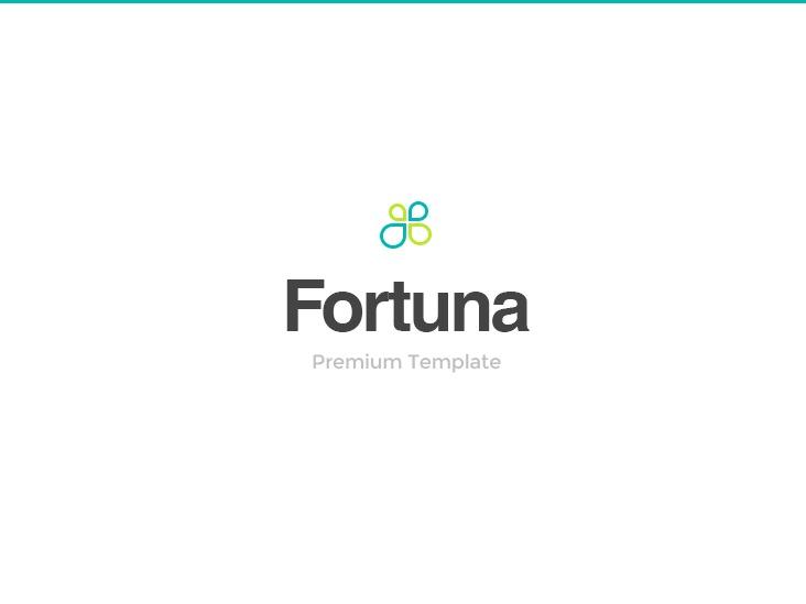 Fortuna (shared on wplocker.com) personal blog WordPress theme