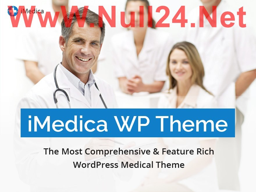 iMedica-Null24.Net medical WordPress theme