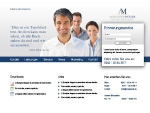 mueller-steuerberatung.net Theme WordPress website template