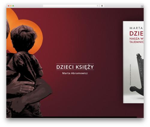 Osmosis WordPress page template - martaabramowicz.pl