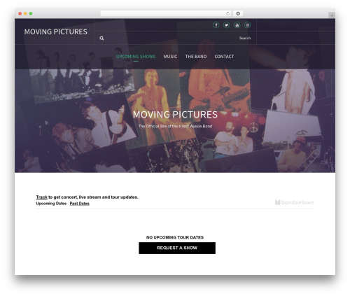 Template WordPress Beat Mix Lite - moving-pictures-band.com