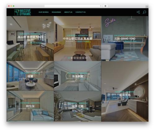 WordPress theme Genie - massivedynamic.com.hk