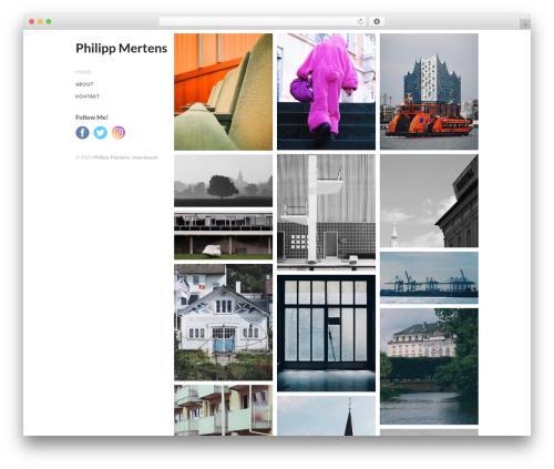 Cell template WordPress free - mertens-bonn.de