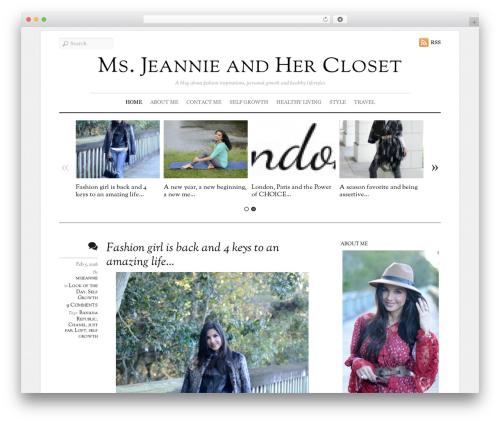 Elemin WordPress template - msjeannie.wpengine.com