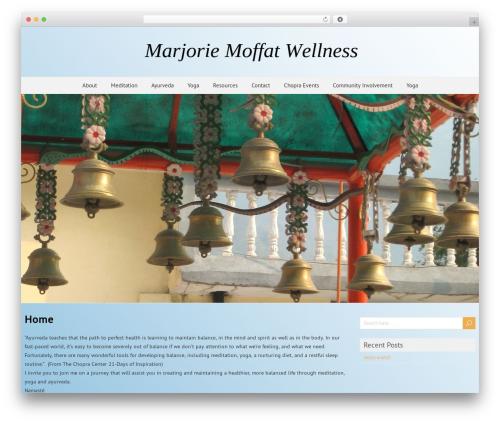 ForeverWood WordPress template free download - marjoriemoffatwellness.com