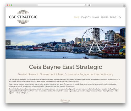 Pinnacle Premium Child Theme WP template - cbestrategic.com