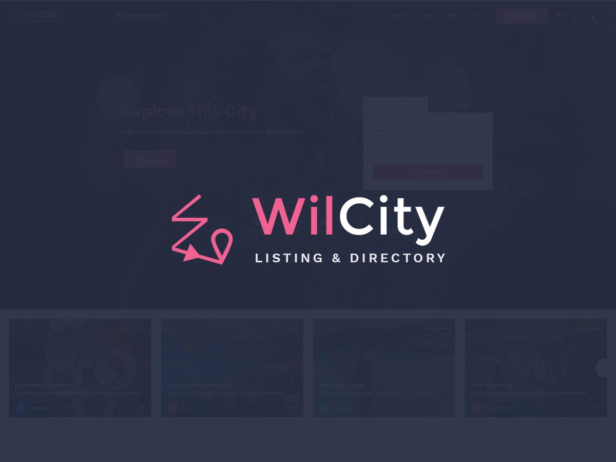 WilCity theme WordPress